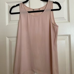 Top with open back detail